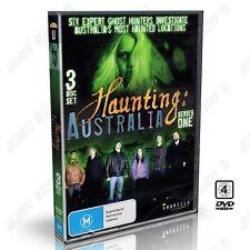 Haunting Australia Series 1 : Ghost Hunters 3 Disc Set : Supernatural : New DVD