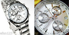 SHN-5000BP-7A White Casio Ladies Stainless Steel Watch SHEEN Analog Box Packy