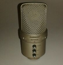 SAMSON G TRACK USB CONDENSER MICROPHONE BUILT IN MIXER AUGEST