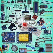 Profesional Kit de arranque (arduino uno R3-compatible) Ultrasónico brújula Gyro