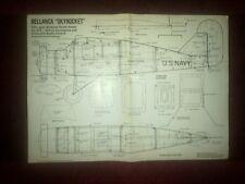 BELLANCA SKY ROCKET Maleta Escala RC Modelo plan por D Boddington