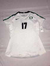 NIKE WOMENS MEDIUM DIGITAL VAPOR VOLLEYBALL JERSEY OREGON DUCKS #17 WHITE $105 4