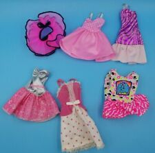 Vintage Barbie Clothing Lot 3 Dresses Skirts and more