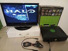 Xbox Konsole mit Chip Evolution X und allen Kabeln
