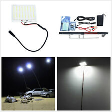 12V Car Outdoor Telescopic Fishing Rod Lamp w/ IR Remote For Camping Travelling