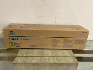 Genuine New Sealed Konica Minolta Yellow TN711TY A3VU230 toner