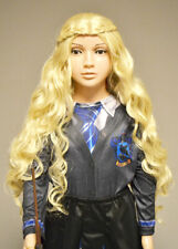 Childrens Luna Lovegood Style Long Blonde Wig