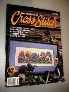 FOR THE LOVE OF Cross Stitch Magazines Better Homes & Gardens March 1996