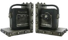 Radio Transistor Nordmende Bookends Shelf Rack Bookshelf Tidy Pair, 2 Pcs, New