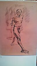 Figure drawing nude expressive, charcoal / paper, pick 'n' mix choice, A1 size @