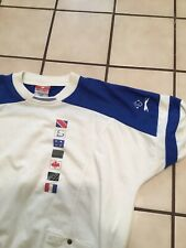 VTG 80s Jimmy Connors Slazenger Tennis Retro Pullover Athletic Sweatshirt Sz. L