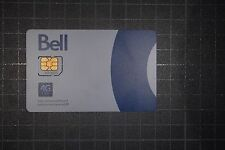 BELL LTE SIM CARD for iPad, cellular modem or routers, etc.