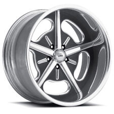 "Pro Wheels HOT ROD 20"" Polished Aluminum Billet Wheels Rims Foose Intro Boyd"