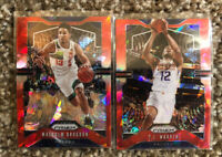 2020 NBA Panini Prizm Red Cracked Ice PACERS 2 Card Lot (Brogdon & Warren)