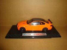 1/24 BMW M3 GTS model orange color