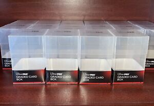 1 ULTRA PRO GRADED CARD STORAGE BOX Holds Toploaders,10 PSA Becket Cards Sealed
