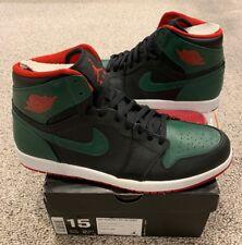 e30772e6c56 Nike Air Jordan Retro 1 High Gorge Green Gym Red Black White Size 15 New DS
