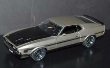 Danbury Mint 1/24 Car 1971 Ford Mustang Boss 351 Fastback Light Pewter Metallic