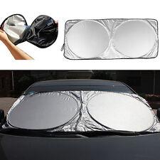 Folding Jumbo Front Car Window Sun Shade Auto Visor Windshield Block Cover Sassy