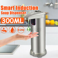 KCASA Home Automatic Touchless Soap Liquid Dispenser Hands Free IR Motion Sensor