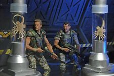 "Hot sale NECA Aliens Colonial Marines Hicks & Hudson 2 Pack 7"" Action Figure"