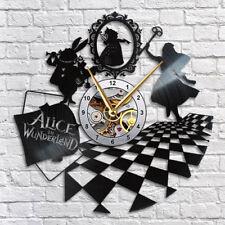 Alice in Wonderland Vinyl Wall Clock