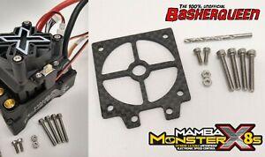 Basherqueen Carbon Fiber Switch Mount Castle Mamba Monster X 8S