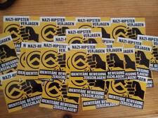 50 Nazihipster verjagen Aufkleber Mix Antifa Punk Gegen Nazis Identitäre GNWP