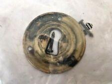 Bocchetta Borchie Chiavi serratura mobili armadi cassetti ottone anticato ø 42