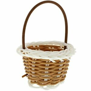 24 Pack Woven Baskets with Handles for Party Favors, Crafts, Decoration Décor