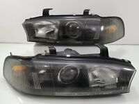 RARE BLACK Projector JDM Subaru Legacy BG5 BD5 93-99 Headlights Lamps Lights OEM