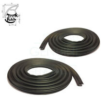 A PAIR OF FRONT DOOR WEATHERSTRIP RUBBER SEALS FITS VW TRANSPORTER T5 (MK5)