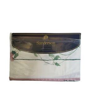 Vintage New In The Package Sanderson Martex Ville de Lyon Queen Flat Sheet