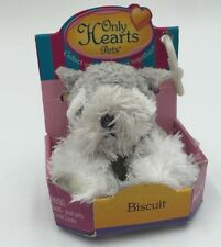"Only Hearts Pets ""Biscuit The Terrier Dog"" Only Hearts Club Rare New In Box"