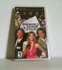 NEW Factory Sealed World Poker Tour - Sony PSP WPT