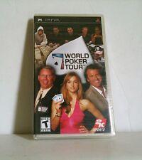 NEW Factory Sealed World Poker Tour - Sony PSP WPT