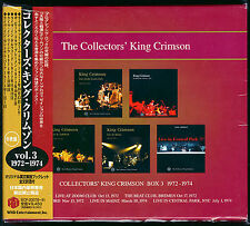 King Crimson, Collectors' King Crimson Box 3 (1972-1974) (Box Set 6 CD_Japan)