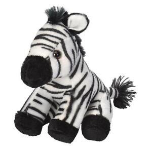 """Wild Republic Pocketkins Zebra 5"""" Soft Plush Toy"""