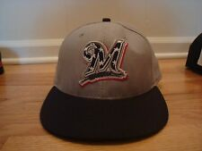 Milwaukee Brewers hat cap New Era 7 1/4 On Field 2013 Stars Stripes 4th of July