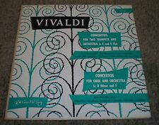 Vivaldi Concertos For Two Trumpets For Oboe And Orchestra~Concert Hall CHS-1242