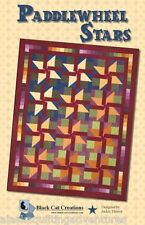 Quilt Pattern ~ Paddlewheel Stars ~ By Black Cat Creations