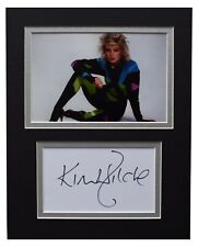 Kim Wilde Signed Autograph 10x8 photo display Music Memorabilia AFTAL COA