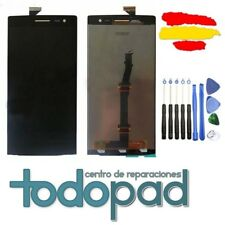 Pantalla tactil + LCD display repuesto Oppo Find 7a X9007 Negra Original