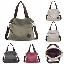 Chic Canvas Women Messenger Handbags Shoulder Crossbody Hobo Bag Tote Satchel