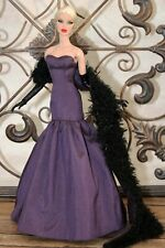 """Stargazer Gown and Stole for 12.5"""" Integrity Fashion Royalty Fr2 dolls"""