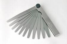Präzisions-Fühlerlehre, Fühlerlehren 13 Blatt, 0,05 - 1,00 mm