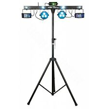 Entertainer DJ  LED Lichtanlage  Komplettset mit Laser QFX Multi FX Lightset