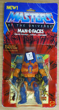 Vintage MOTU MAN-E-FACES Masters of the Universe MOC Carded Sealed He-Man Figure