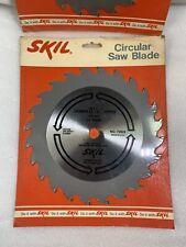 "Lot of 2 SKIL 8 1/4"" (210mm) 24 Teeth Carbide Tipped Circular Saw Blade No.72826"