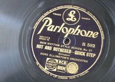 78rpm DUKE ELLINGTON hot & bothered / swampy river [ piano solo ]